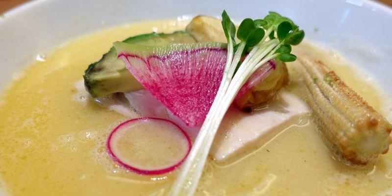 在札幌吃米其林推薦神級拉麵--銀座 篝