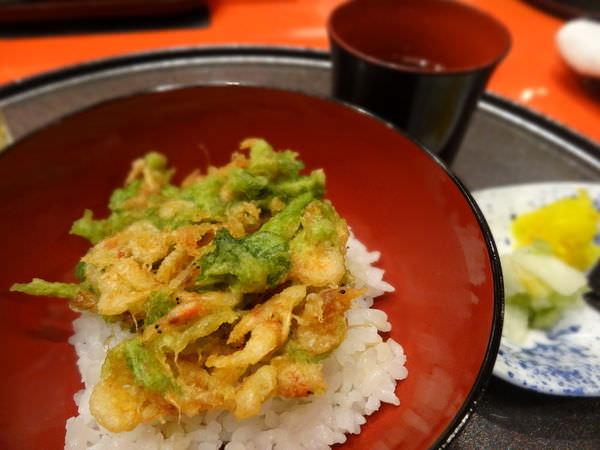 高檔天婦羅垂手可得–京都車站Hotel Granvia Kyoto京林泉晚餐