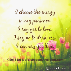 Positive Energy Affirmation, affirmation, quote, positivity, positive, parenting, self care