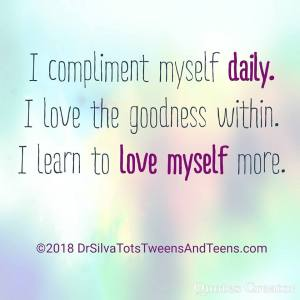 Love Myself Affirmation, affirmation, quote, positivity, positive, parenting
