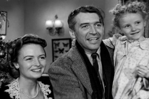 It's a Wonderful Life, Christmas movie, family time