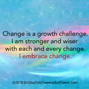 Embrace Change Affirmation