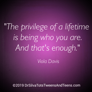 Affirmation, Quote - Privilege Being You