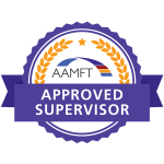 AAMFT Approved supervisor logo
