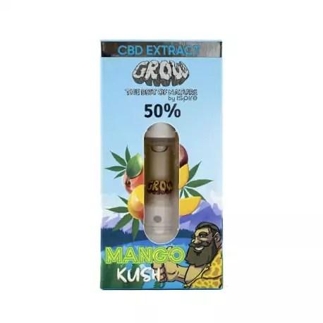 Huile CBD Vape 50% MANGO KUSH