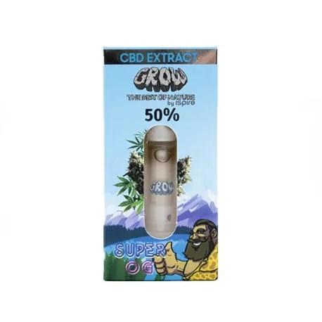 Huile CBD Vape 50% SUPER OG