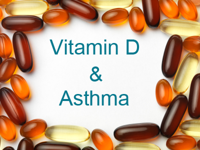 Vitamin D Deficiency Worsens Asthma, Study Says