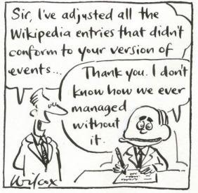 La infalibilidad de Wikipedia