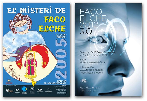 En los primeros años de FacoElche, la FacoDama era la protagonista del cartel, mientras que ahora tiene una presencia discreta pero obligatoria.