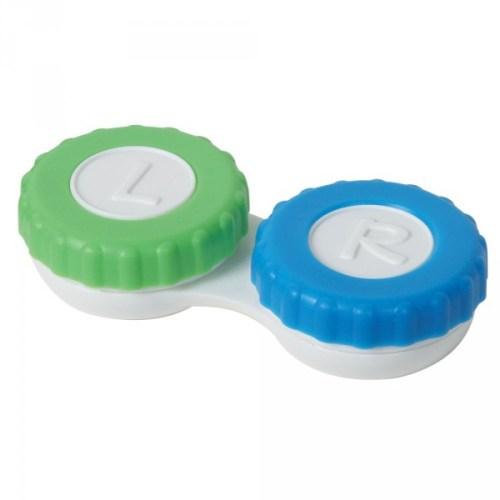 Los estuches de las lentes de contacto mal utilizados son una fuente de infecciones