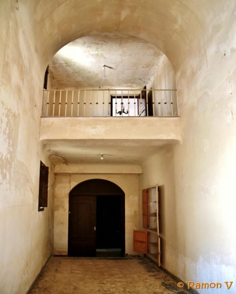 Balconada interior de la Hermita