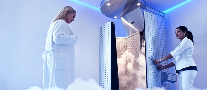 Cryothérapie, efficace ou effet de mode ?