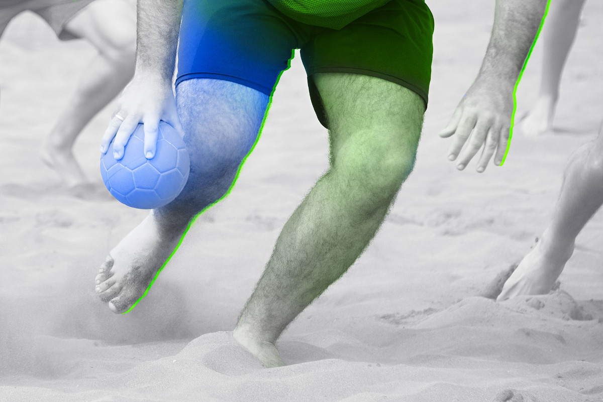 douleurs et blessures fréquentes de la jambe, des pieds, de l'épaule et des coudes chez les handballers