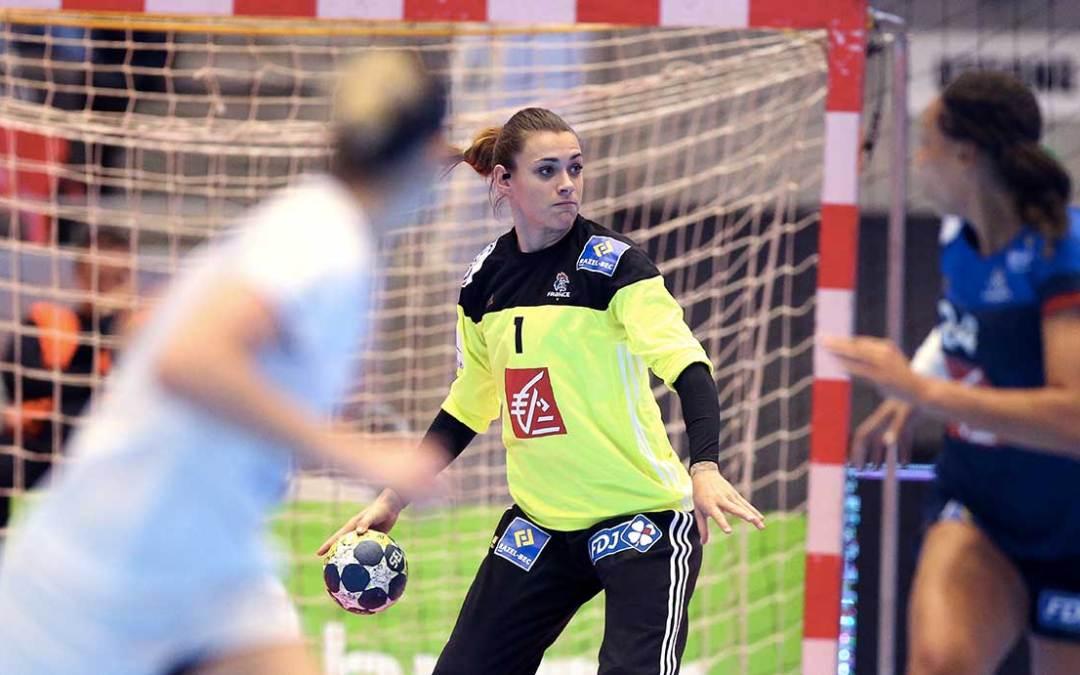Le mondial de handball vu par Laura Glauser