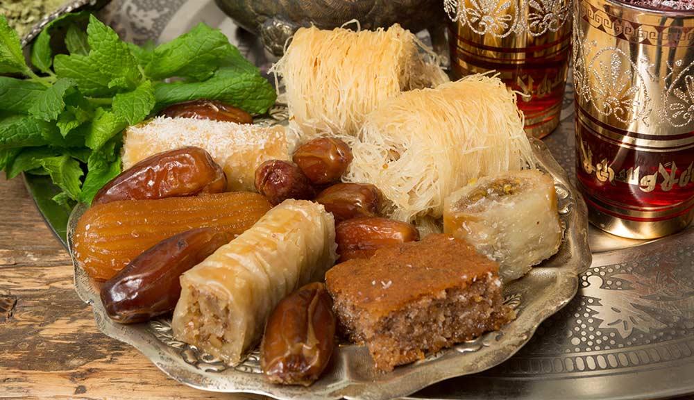 Lors de la rupture du jeûne, il n'est pas interdit de craquer, de temps, en temps, pour de délicieuses pâtisseries bien caloriques !