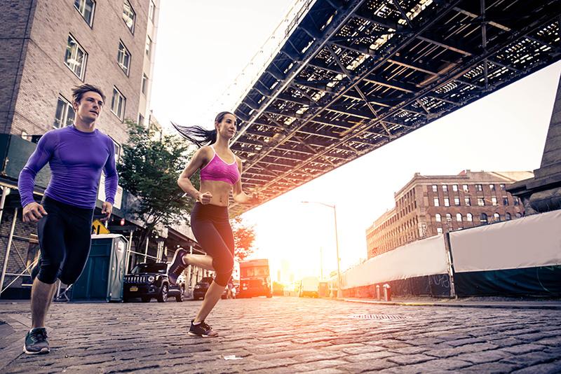l'Urban Trail est une discipline dans laquelle un parcours de trail est créé en pleine ville en y intégrant des éléments urbains comme des escaliers.