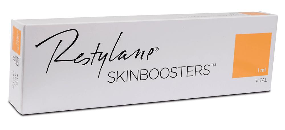 Скинбустер рестилейн витал се използва за дълбока хидратация на кожата