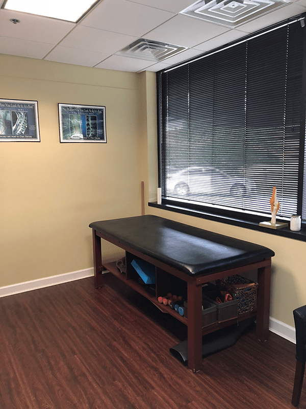 Chiropractic Care Room - Dr. Sikorsky Elgin, Illinois