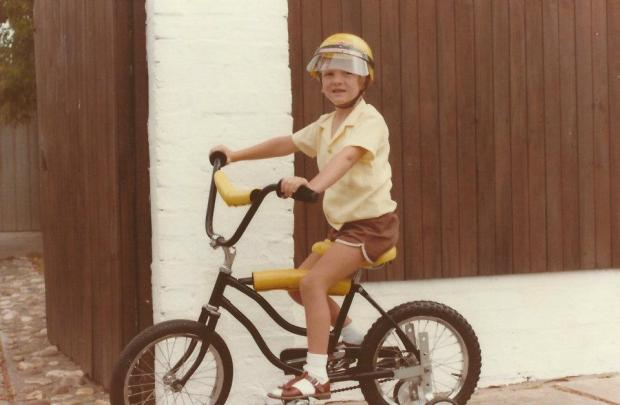 At least my 'Socks with Sandals' look is appropriate for Germany. (Circa 1985)