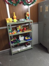 Toys to stimulate the vision in children with delayed visual development