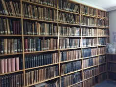 Ophthalmology journals they have kept there since the 1800's