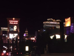Looking the other way down the strip