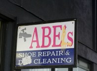 A shoe repairer and dry cleaner in Los Angeles