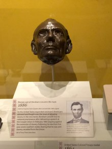 Abraham Lincoln's death mask