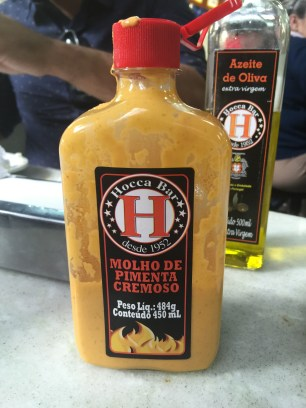 Their hot-sauce was great, but they didn't sell it
