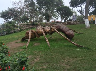 Nothing to see here, just a giant bark ant