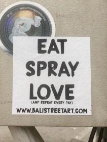 Spray love?