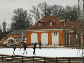 People ice-skating