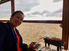 Anna cooking up a storm
