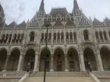 Hungarian Parliament up close