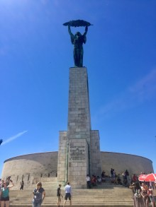 The Liberty Statue at the Citadella