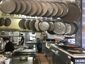 Some of those paella pans are enormous