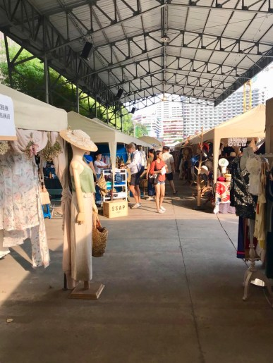 Inside the market once I had crossed back