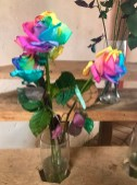 The told us they purposely dye these ugly roses for the Chinese market