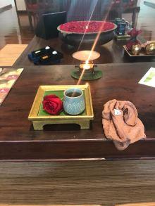What awaited Anna at her birthday massage