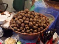 The snails were enormous