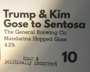 A special beer in honour of Donald Trump and Kim Jong-un's visit to Singapore in June