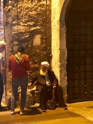 Outside the Atik Ali Pasha Mosque Complex