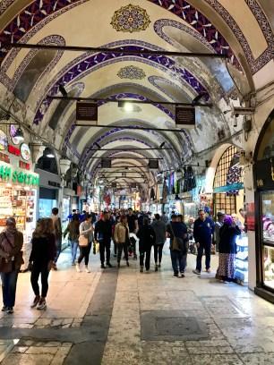Where we entered the Grand Bazaar
