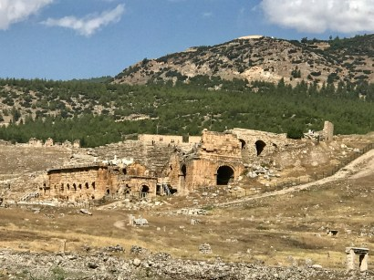 Some ruins of Hierapolis