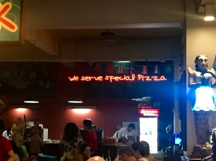 My guess is it is just regular pizza