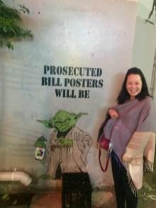 Anna and Yoda