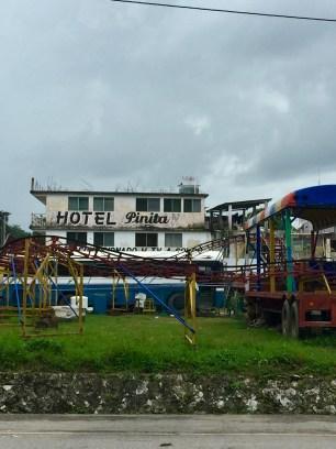 The luxurious Hotel Pinita