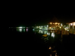 The view from our restaurant on the last night
