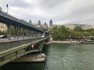 A bridge over the Seine