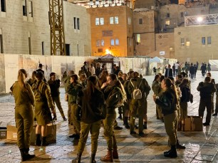 Even women in Israel have to do compulsory national service